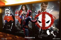 Thru interesting posters, Deadpool painted the box office red..