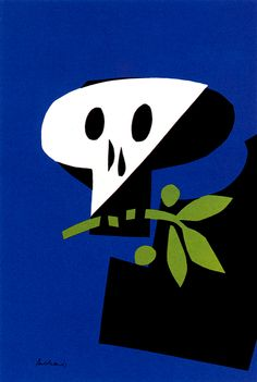 one of my Favorite Paul Rand designs. Hamlet.