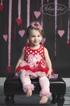 Melissa Calise Photography (Valentine's Day Photo Shoot Ideas Hearts Girl)