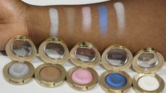 Milani Bella Eyeshadow Swatches! #Milani #BellaEyeshadows @milanicosmetics