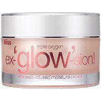 Bliss - Triple Oxygen Ex-'Glow'-sion Vitabead-Infused Moisture Cream in  #ultabeauty