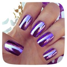 """""""2016 Spring Summer Trend: Metallic Nail Polish"""" by lesley-ortiz on Polyvore featuring beauty"""