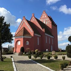 Great grandmother Anna K. Petersen baptized here before moving to Kansas. Famous for having the oldest frescoes in Denmark. Photo: Gaylis Jensen Ghaderi