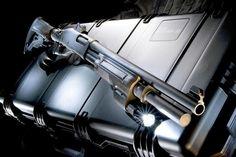 Custom Remington 870 shotgun