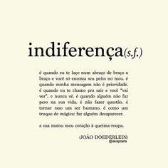indiferença - João Doederlein
