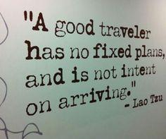 I love travelling...