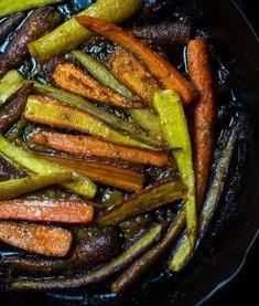 Miso Maple Mustard Glazed Carrots — mississippi vegan