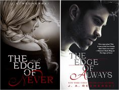 The Edge of Never and The Edge of Always by J.A. Redmerski. I read The Edge of Never and liked it. It did have me sobbing a bit but ended well. Now reading The Edge of Always.