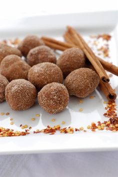 """Love Goddess"" cayenne cinnamon chocolate truffles!"