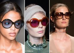 Spring/ Summer 2016 Eyewear Trends: Sunglasses with Plastic Lenses  #sunglasses #eyewear #trends