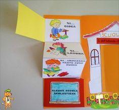 Idee e proposte didattiche per lo sviluppo e l'apprendimento. Risorse per insegnanti, educatori, genitori e Bambini Home Schooling, Interactive Notebooks, Classroom, Letters, Creative, Pinocchio, Mamma, Routine, Craft