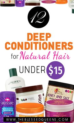 12 deep conditioners for natural hair under 15