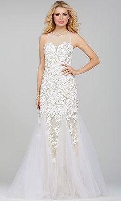 White Lace Dress 24187