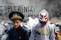 Ali Öz - Dolapdere, Bit Pazarı ve Çocuklar. (watermarked :/)