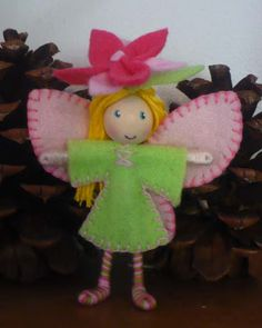 Spring Flower Fairy Bendy Doll Giveaway!