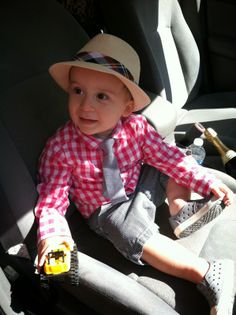 Bryson Kyle's Easter Outfit! Stylish Toddler Boy Easter Outfit!