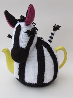 TeaCosyFolk's Zebra Tea Cosy is in this months Simply Knitting​ magazine http://www.teacosyfolk.co.uk/Zebra-Tea-cosy-p-155.php