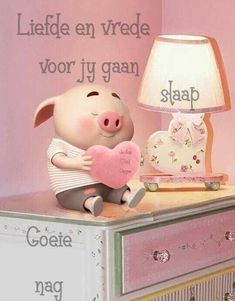 Pig Wallpaper, Cute Piglets, Goeie Nag, Afrikaans Quotes, Good Night Sweet Dreams, Good Night Quotes, Photo On Wood, Little Pigs, Animals And Pets