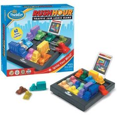 Think Fun Rush Hour Game, Assorted