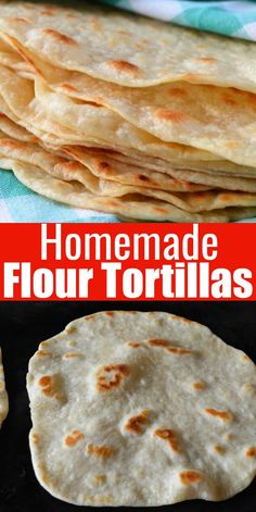 mexican food Soft Homemade Flour Tortillas made with butter are absolutely delicious. Soft and tender Flour Tortillas are a favorite for your next Mexican food night. The absolute best Tortillas from Serena Bakes Simply From Scratch. Recipes With Flour Tortillas, Homemade Flour Tortillas, Recipe For Tortillas De Harina, Tortilla Recipe With Butter, Recipes With Flour Easy, Mexican Tortilla Recipe, Tortilla Recipes, Authentic Mexican Recipes, Cheap Meals