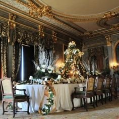 Once upon a holiday, the Mills Mansion — now the Staatsburgh State Historic Site, near Rhinebeck, NY — was home to some of the most exclusive Christmas parties in the country.