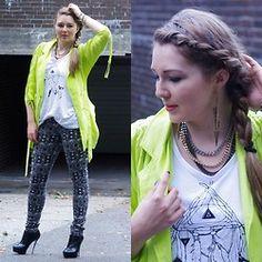 Ania K. [www.overdivity-fashion.blogspot.com] - Neon love