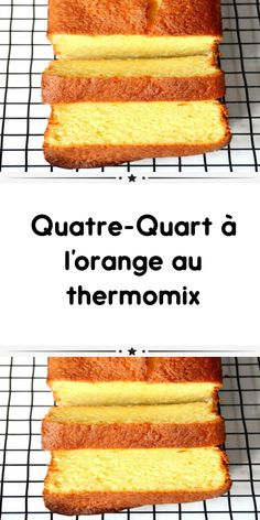 Quatre-Quart with orange with thermomix a delicious soft cake for your snack. So simple to prepare here is the thermomix recipe for quatre-quart. Buttermilk Dessert Recipes, Buttermilk Pound Cake, Almond Pound Cakes, Buttermilk Biscuits, Healthy Carrot Cakes, Best Carrot Cake, Thermomix Desserts, No Cook Desserts, Sponge Cake Recipes