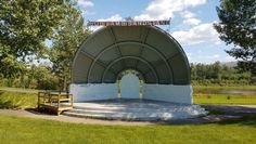 The Regional Municipality of Wood Buffalo is looking for a Canadian artist for a mural at the Bob Lamb Bandstand in Borealis Park, Fort McMurray. #Alberta #Canada