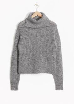 & Other Stories | Slit Turtleneck Sweater