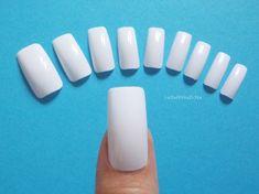 clavos cuadrados base de uñas conjunto blanco colorear squoval uñas arte manicura uñas uñas cuadrada con o sin cola lasoffittadiste