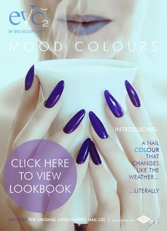 Mood Colors, Colours, Bio Sculpture Gel Nails, Gel Nail Colors, Stylish Nails, Gel Manicure, Nail Trends, Evo, Nail Care