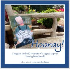 Winners of my book giveaway on my blog!