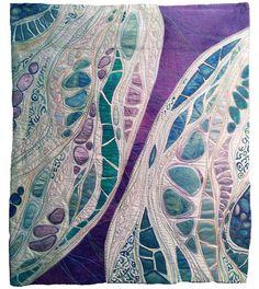 Cultivating Connections I: Karen Kamenetzky Art Quilt