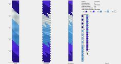 Piccole Creazioni Creative: Tutorial al volo: come si crea e come si legge uno schema per realizzare una spirale crochet