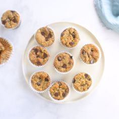 These Healthy Protein Muffins are the perfect nutritious breakfast! Gluten/dairy free and packed with protein they're delicious easy to make! Great for kids and adults - these gluten free muffins are easily customized and so yummy! Healthy Muffin Recipes, Healthy Muffins, Healthy Protein, Protein Bars, High Protein, Healthy Food, Banana Protein Muffins, Healthy Banana Bread, Gourmet Recipes