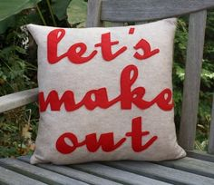 Pillow... ;) YES