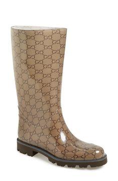 Gucci rain boots for winter!