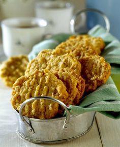 Vločkové sušenky s pomerančem