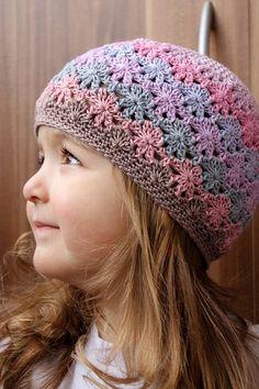Crochet Beanie Hat, Crochet Baby Hats, Baby Blanket Crochet, Crochet Clothes, Knitted Hats, Knit Crochet, Easy Crochet Stitches, Crochet Blanket Patterns, Knitting Patterns