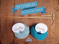 El blog de Dmc: Tutorial tricot principiantes: punto de arroz