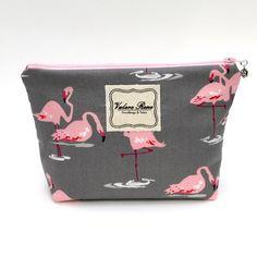 Shop our Flamingos Medium Makeup Bag for $20.00 at www.vrhandbags.com