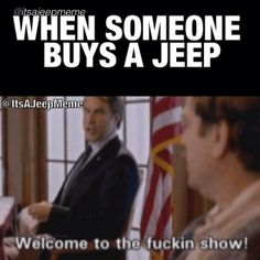 You must go #FOLLOW @It's A Jeep Meme @It's A Jeep Meme @It's A Jeep Meme for #funny  #jeephumor .. He will make your day better I promised !!! %100 #JeepBeefApproved  #funny #jeep #memes #jeepbeef BEYOND THE WAVE  #Padgram