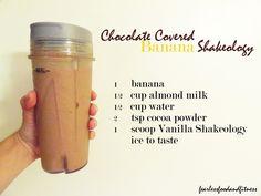 shakeology chocolate recipes - Google Search
