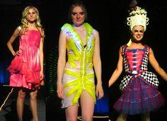 Condom fashion show