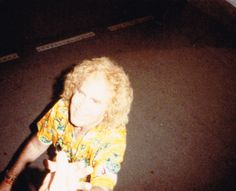 Jan on his way backstage after the July 1989 daytime performance.