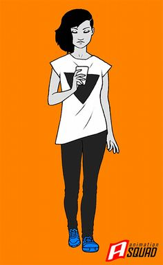 Walk cycle I animated for Picnic Studio. Character design by Ricardo Bessa. ricardobessa
