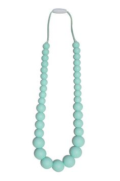 Anna Silicone Teething Necklace- Sweet Mint