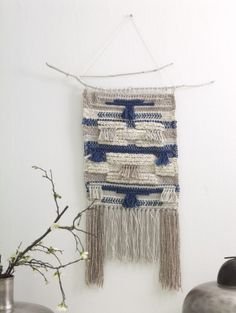 Your weekend project: Audra Kurtz shows you how to weave an easy wall hanging using a Martha Stewart Crafts™ Loom! | Lion Brand Notebook