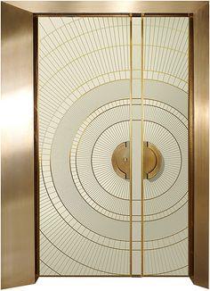 דלת קדם כנף וחצי,דלתות כניסה מעוצבות בנגיעה אומנותית ליין - ART - רשפים