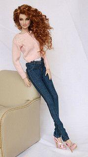 Dark Blue Jeans | kingdom doll